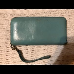 Fossil Zip Around Wristlet Wallet